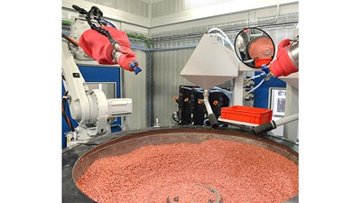 Automated finishing reduces cycle times
